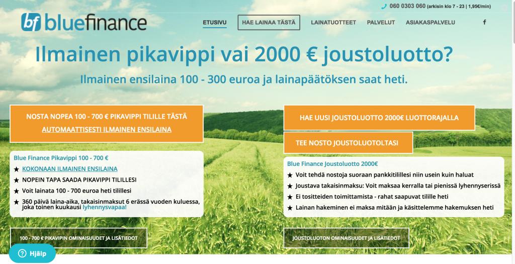 Blue Finance Lainaa